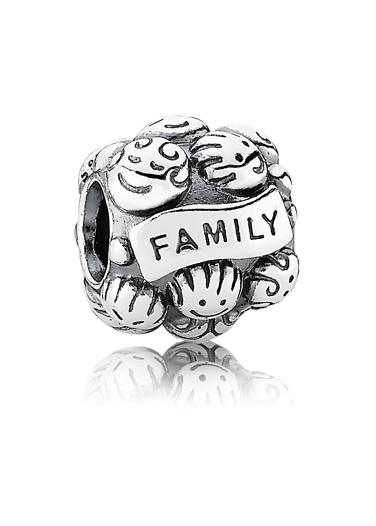 Pandora Familienliebe Silber-Element Family Love