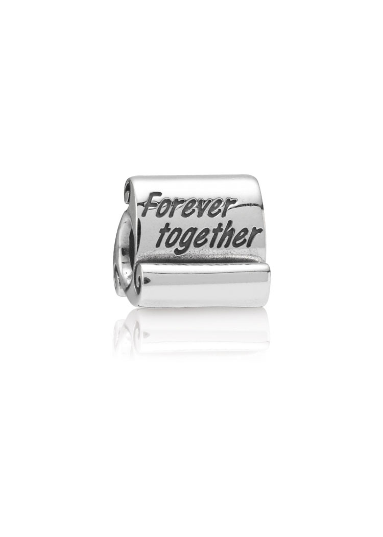 "Pandora ""Forever Together"" Silber-Element"