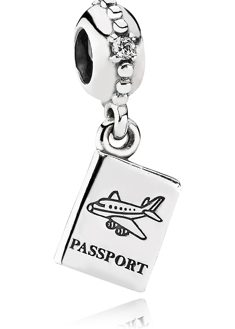 "Pandora Reisepass ""Passport"" Charm Anhänger Element"