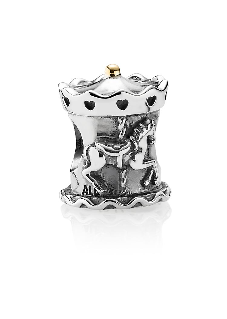 Pandora Karussell Bicolor Charm-Element